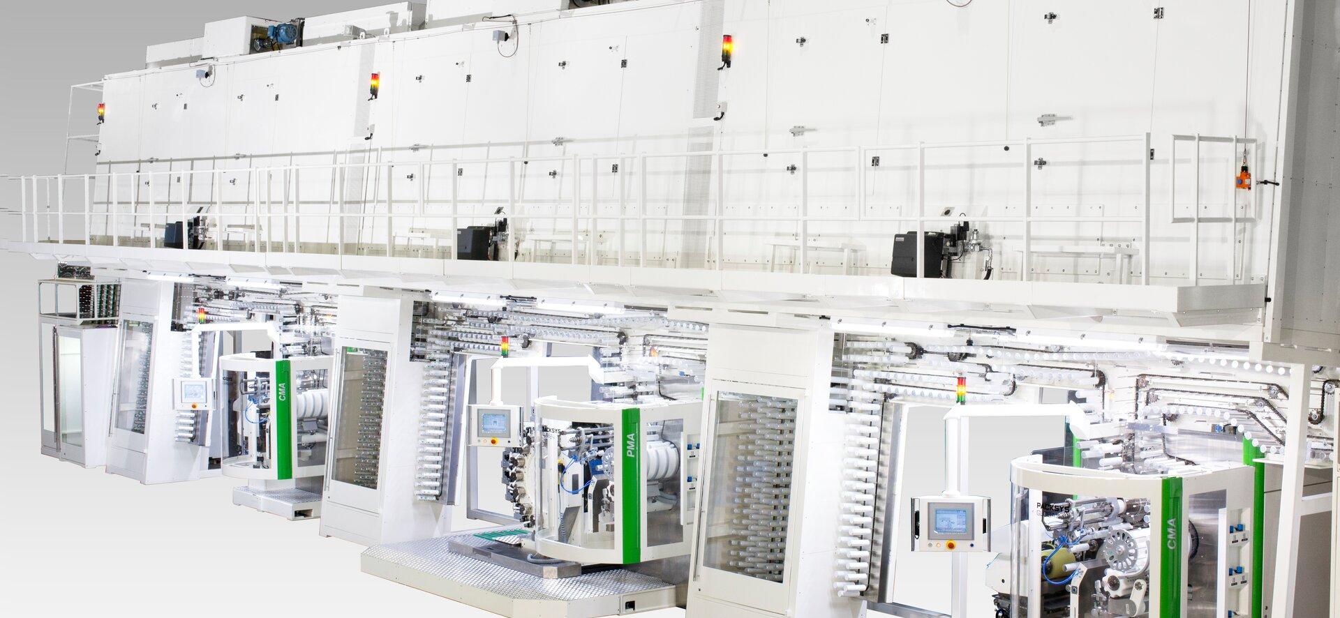 Aerosoldosen Produktionslinie von PackSys Global