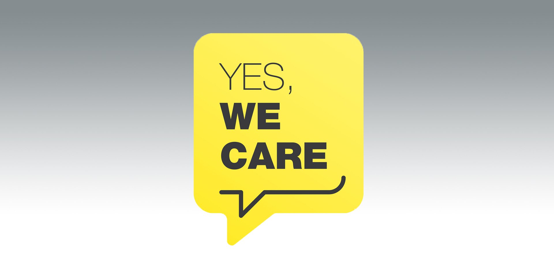 Unsere Initiative Yes, we care