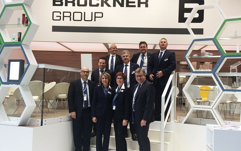 A heartful thanks to all visitors from the staff at the Brückner Group booth