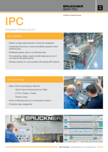 Integrated Process Control System IPC