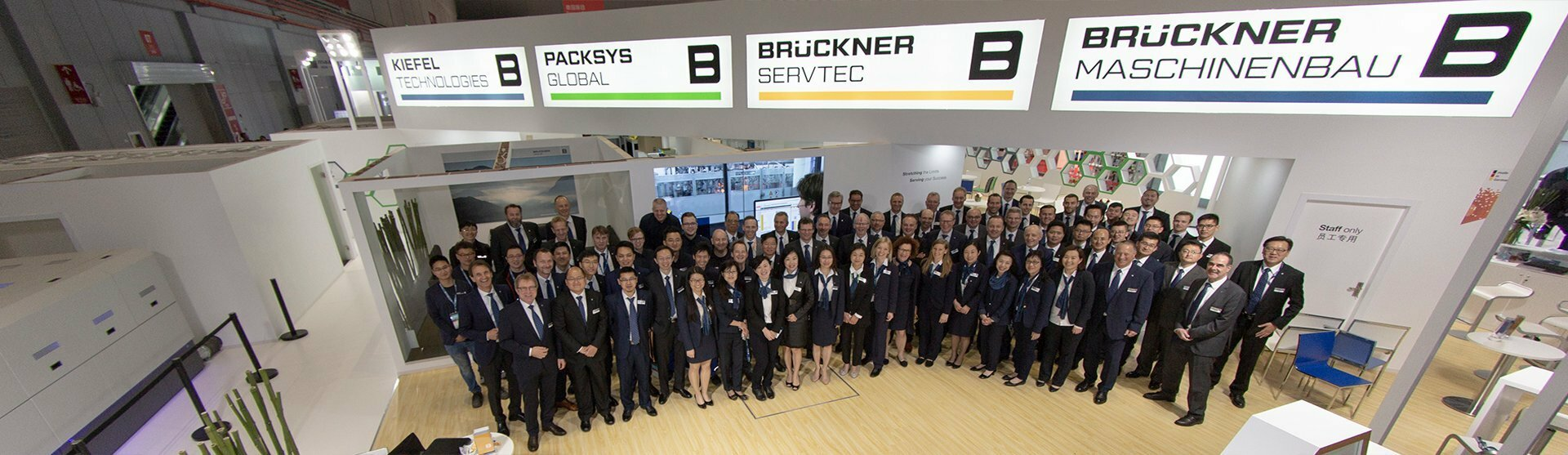 Brückner Servtec: Events