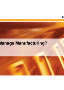 Manufacturing Management System