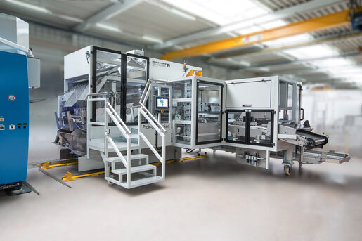 Thermoformen Stapelsystem - Pick-up Stacker