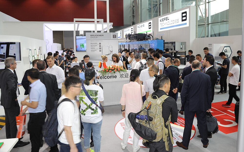 A busy booth during the whole Chinaplas