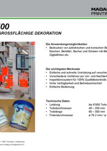 Flyer DecoMat-700