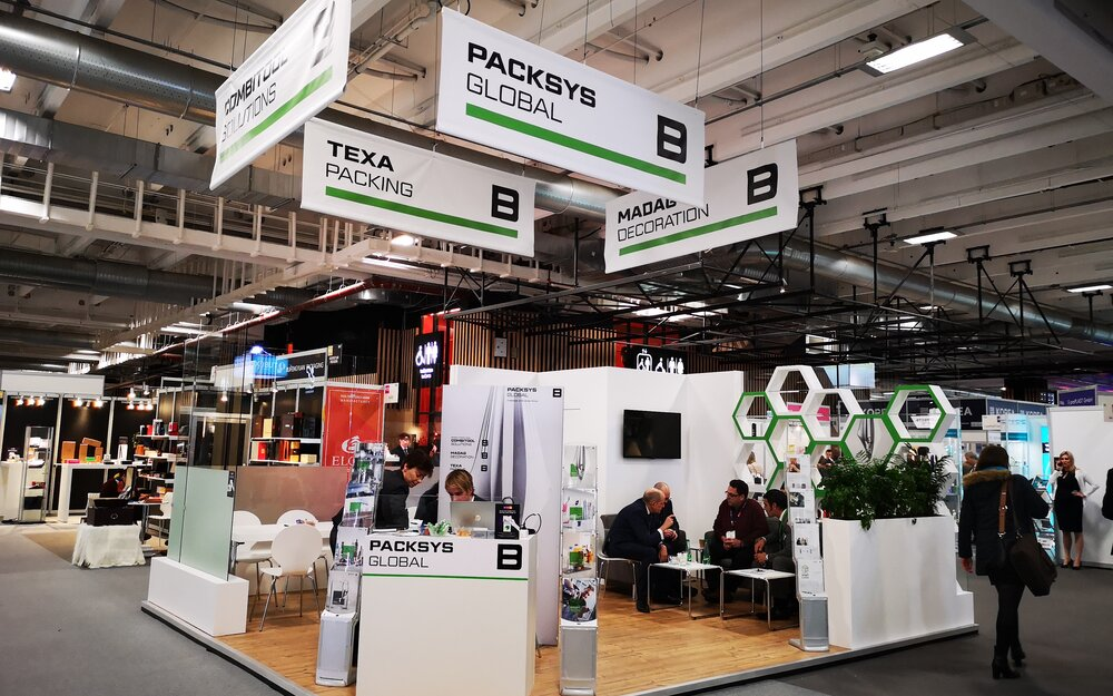 PackSys Global booth at ADF 2020