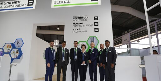 PackSys Global team at Plastindia 2018