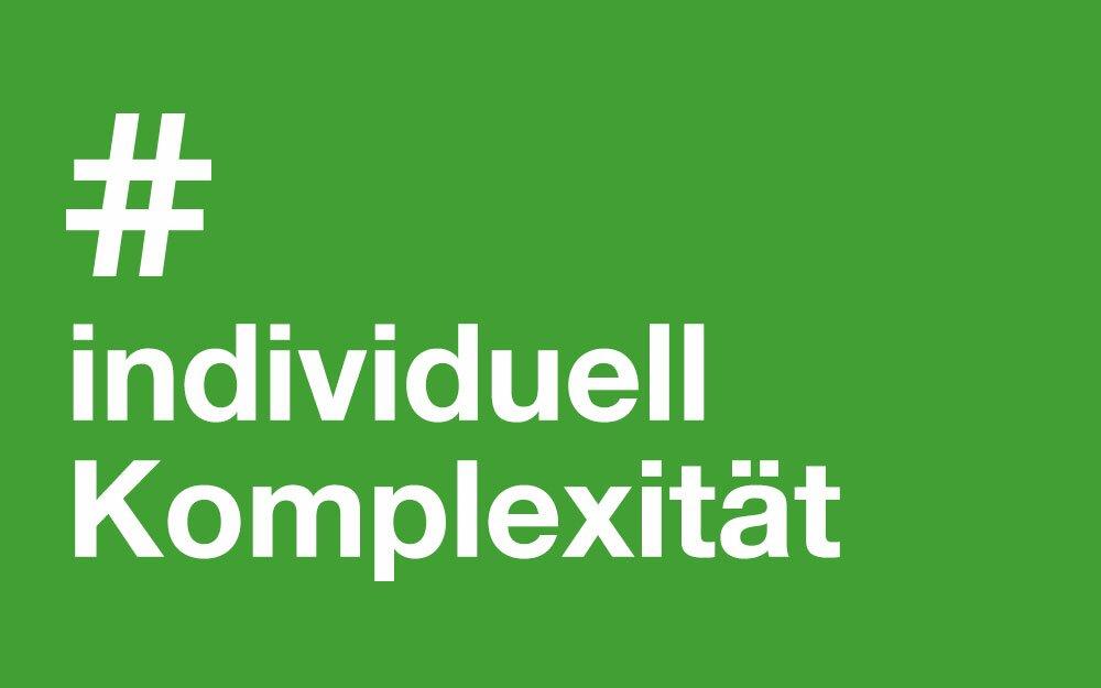 #Individuell #Komlexität
