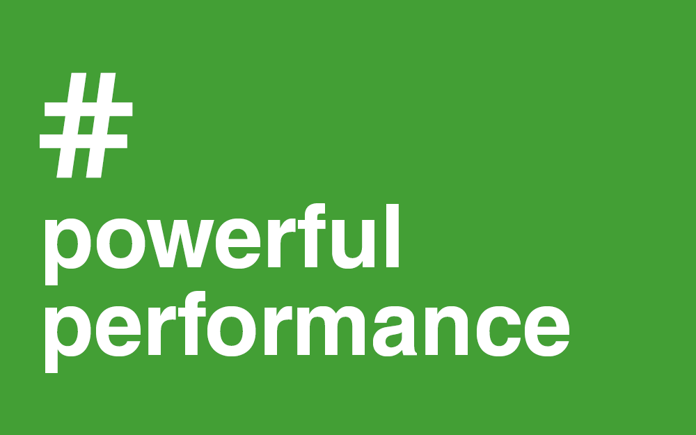 #Powerful #Performance