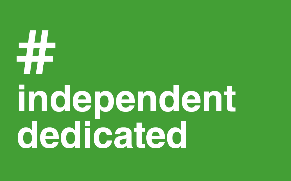 #Independent #Dedicated