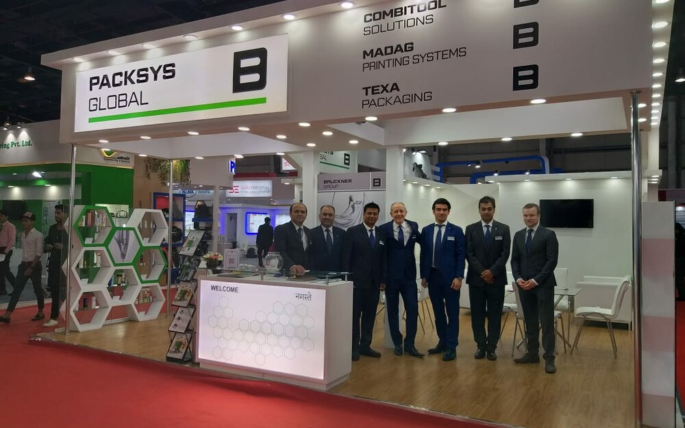 PackSys Global team at Indiaplast