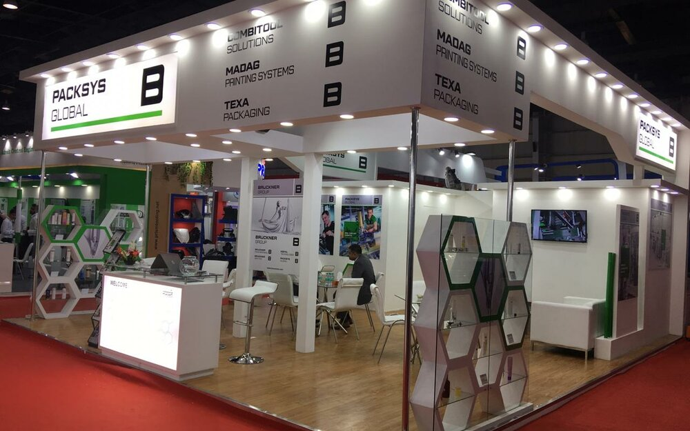 PackSys Global booth at Indiaplast exhibition