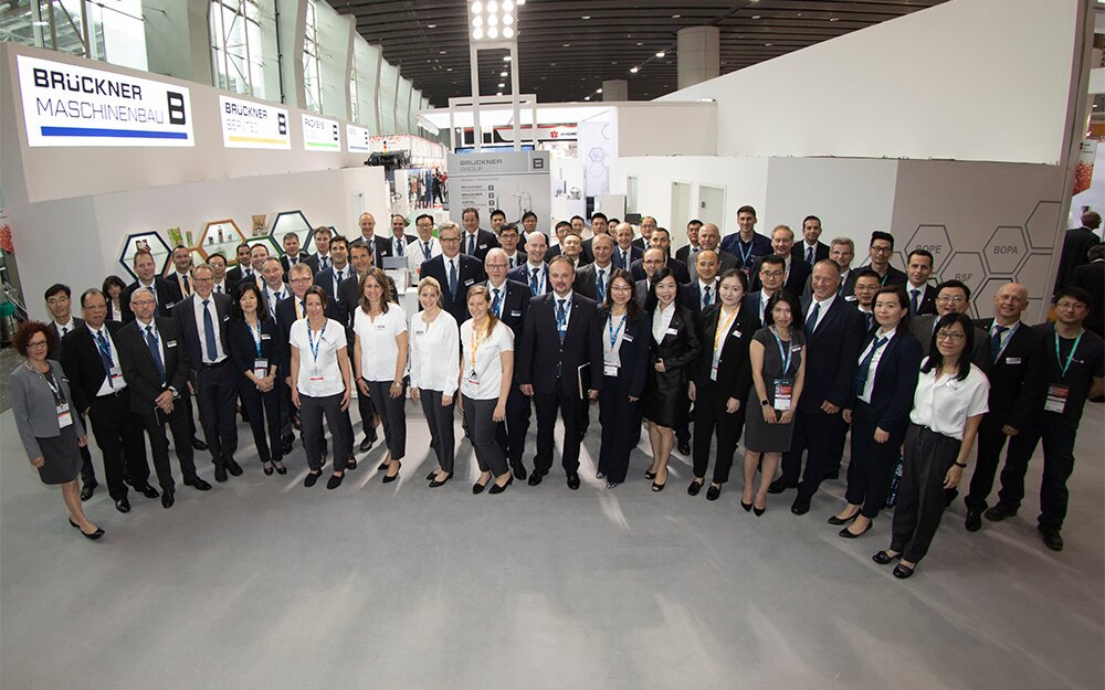 All Brückner Group companies thank customers, partners and friends vor visiting