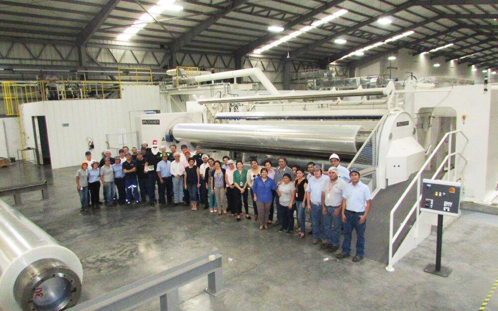 One of the latest successful cooperations: 2nd BOPP line for El Salvador