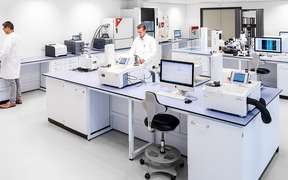 Kiefel Packaging – Equipped with a state of the art laboratory