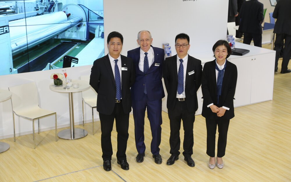 PackSys Global Team at Chinaplas exhibition
