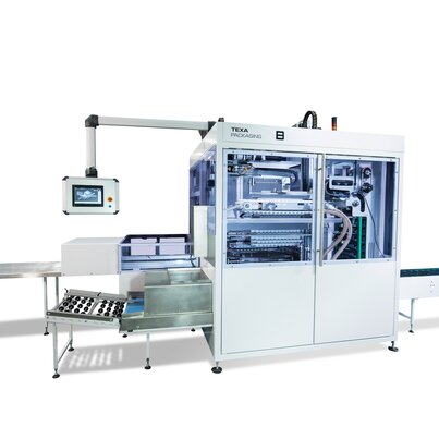 FlexMaser tube packing machine