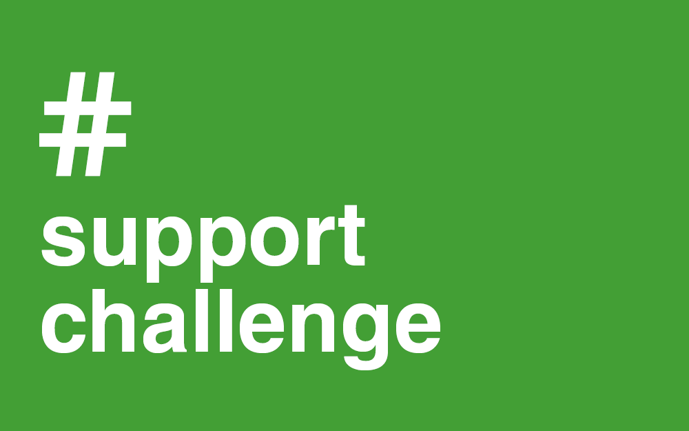 #Support #Challange