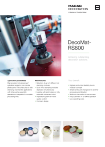 Flyer DecoMat RS