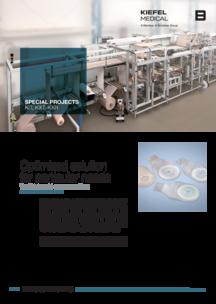 Ostomy pouch machine