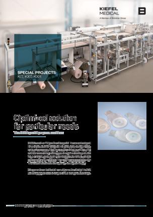 Ostomiebeutel-Maschine