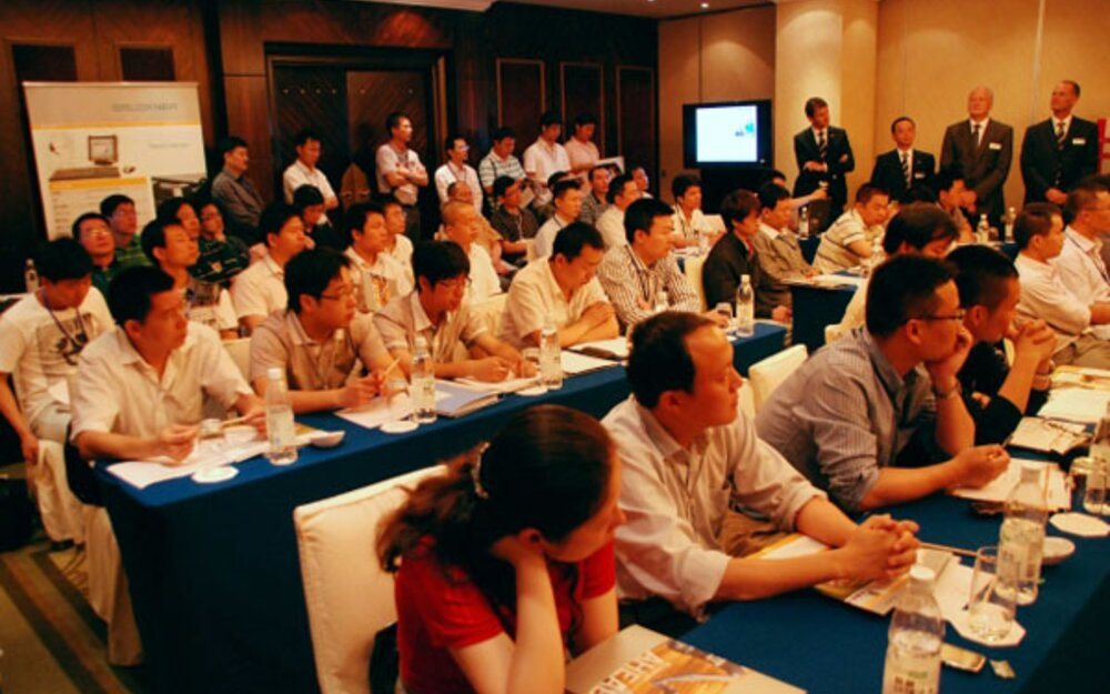 Full house: the first Brückner Servtec in-house exhibition in China